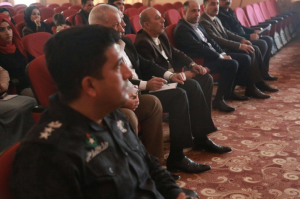 Participants at We Are Iraq training session